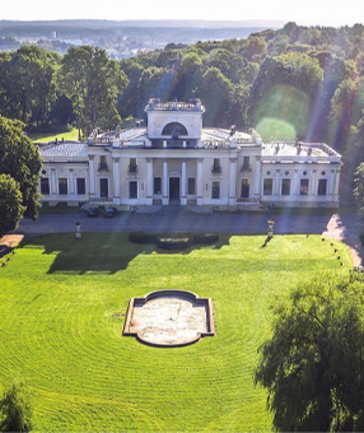 Trakų Vokės dvaro sodybos parkas